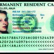 کارت اقامت دایمی در آمریکا